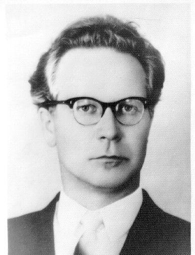 Константин Павлович Бутейко в молодости
